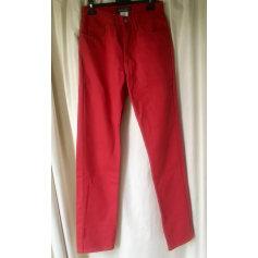 Pantalon droit Soleiado  pas cher