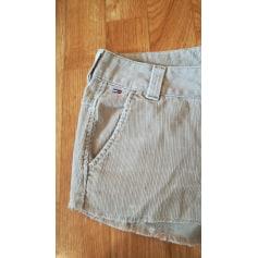 Short en jean Tommy Hilfiger  pas cher