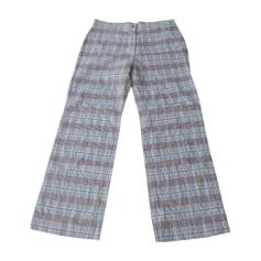 Pantalon droit Sonia Rykiel  pas cher
