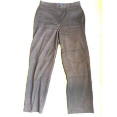 Pantalon droit Bleu 123  pas cher