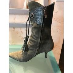 Bottines & low boots à talons Neri  pas cher