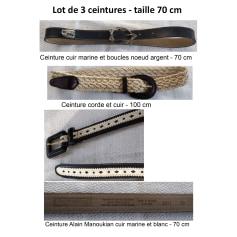 Skinny Belt Alain Manoukian