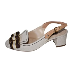 Sandales à talons Louis Vuitton  pas cher