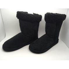 Bottines & low boots plates Eden  pas cher