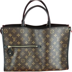Sac à main en cuir Louis Vuitton W pas cher