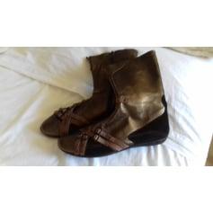 Bottines & low boots plates Myma  pas cher