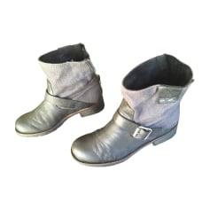 Bottines & low boots à talons Calvin Klein  pas cher