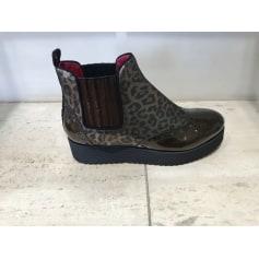 Bottines & low boots plates Alberto Gozzi  pas cher