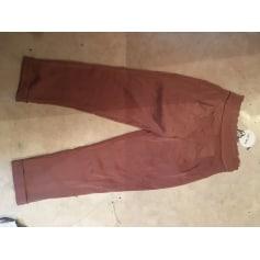 Pantalon droit Line + Dot  pas cher