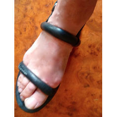 Sandales plates  Calvin Klein  pas cher