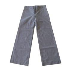 Pantalon droit Paco Rabanne  pas cher