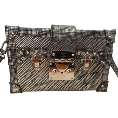 Leather Shoulder Bag Louis Vuitton Petite Malle