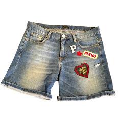 Short en jean Pinko  pas cher