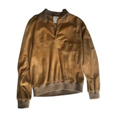 Leather Zipped Jacket Hermès