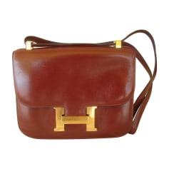 Schultertasche Leder Hermès Constance
