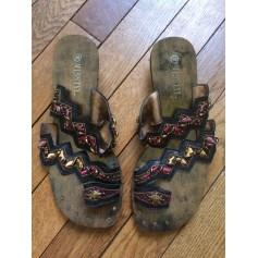 Sandales plates  Misstyl  pas cher