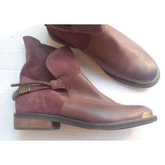 Bottines & low boots plates Promod  pas cher