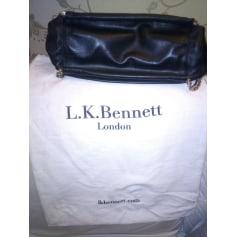 Sac en bandoulière en cuir LK Bennett  pas cher