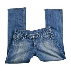 Jeans large, boyfriend Victoria Beckham  pas cher