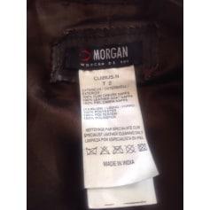 Blouson en cuir Morgan  pas cher