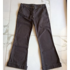 Jeans très evasé, patte d'éléphant Maje  pas cher