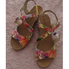 Sandales compensées Lauréane  pas cher