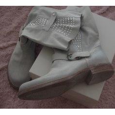Bottines & low boots plates Piampiani  pas cher