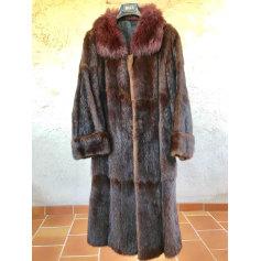 Manteau en fourrure Maryvonne  pas cher