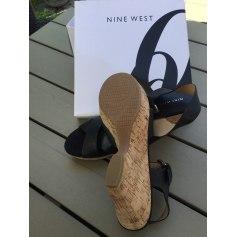 Sandales compensées Nine West  pas cher