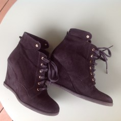 Bottines & low boots à compensés San Marina  pas cher