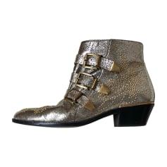 Bottines & low boots à talons Chloé Susanna pas cher