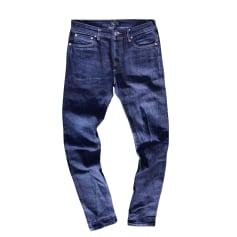 Jeans slim APC  pas cher