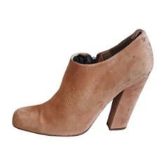 Bottines & low boots plates Chloé  pas cher