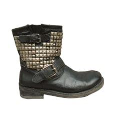 Bottines & low boots motards Ash  pas cher