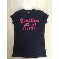 Top, Tee-shirt Benetton  pas cher