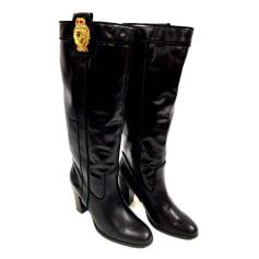 High Heel Boots Mellow Yellow