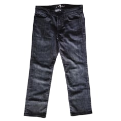 Jeans large 7 For All Mankind  pas cher