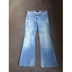 Jeans très evasé, patte d'éléphant Meltin' Pot  pas cher