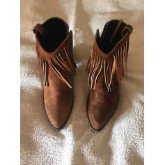 Bottines & low boots à talons Kammi  pas cher