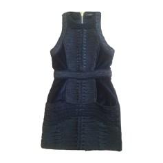 Robe courte Balmain x H&M  pas cher