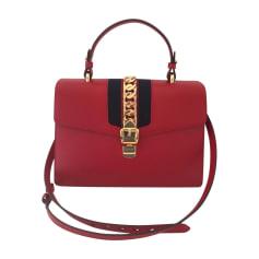 Lederhandtasche Gucci Sylvie