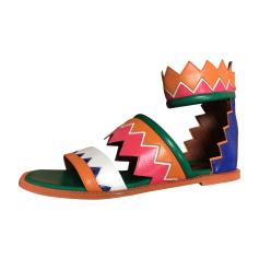 Sandales plates  Missoni  pas cher