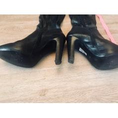 Thigh High Boots Ash