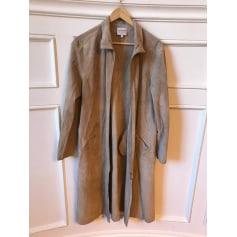 Manteau en cuir Armani  pas cher