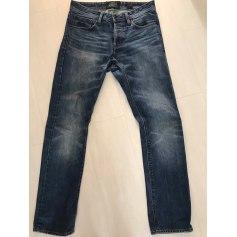 Jeans droit Superdry  pas cher