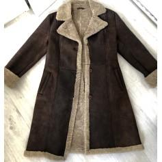Manteau en cuir Tintoretto  pas cher