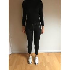 Pantalon slim, cigarette Hudson Jeans  pas cher