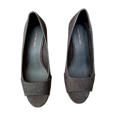 Sandales compensées Calvin Klein  pas cher