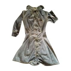 Robe en jeans Vivienne Westwood  pas cher
