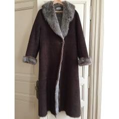 Manteau en cuir Brighton  pas cher
